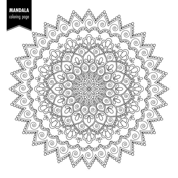 Mandalas Zeichnen Für Anfänger