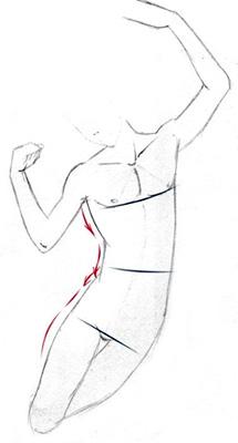 eine menschliche figur zeichnen