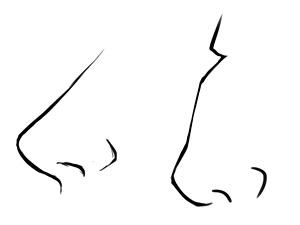 Manga Gesicht Nase Zeichnen