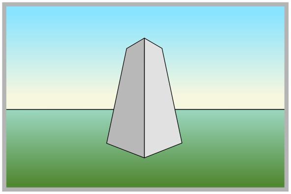 Dreipunktperspektive Perspektive Mit Drei Fluchtpunkten Zeichnen