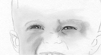 portrait zeichnen teil 2 ein baby zeichnen seite 1. Black Bedroom Furniture Sets. Home Design Ideas