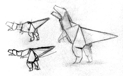 Skizze Papierkrieger 4