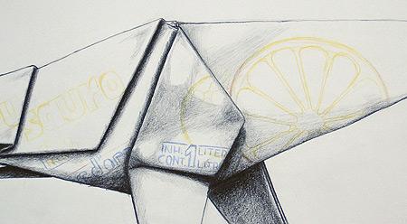 Zeichnung Papierkrieger