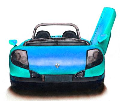 Autos Malen Und Zeichnen